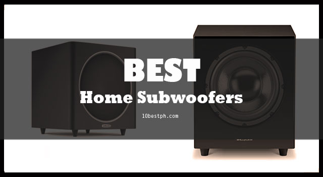 10 Best Home Subwoofers Philippines
